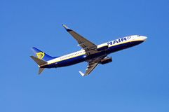 Ryanair Boeing 737-800. Stock Photography