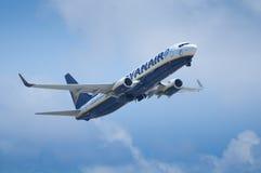 Ryanair décollent Photo libre de droits