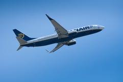 Ryanair décollent Image libre de droits