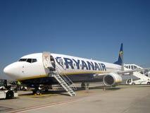 Plane Ryanair Royalty Free Stock Images