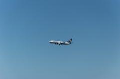 Ryanair Flights landing Stock Image