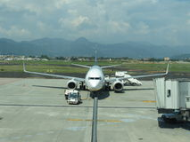 Ryanair-Flugzeuge Lizenzfreies Stockbild