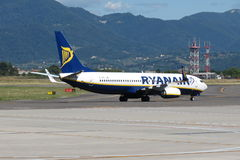 Ryanair flygplan Boeing 737-800 Royaltyfri Bild