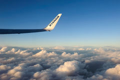 Ryanair- Irish low-cost airline. Stock Photos