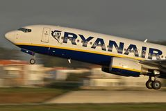 Ryanair low cost Stock Image