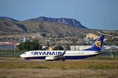 Ryanair Mountain View Stock Photography