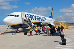 Ryanair Royalty Free Stock Photography