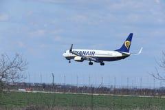 Ryanair Boeing 737-800 EI-FTP jet landing Stock Photos