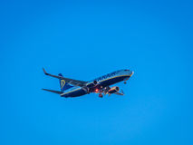 Ryanair plane taking off Royalty Free Stock Photography