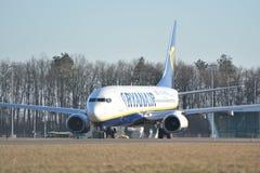Ryanair plane Stock Photo