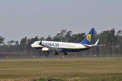 Ryanair plane Royalty Free Stock Image