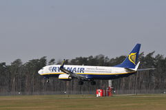 Ryanair plane Royalty Free Stock Images