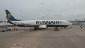 Ryanair samolot Zdjęcia Stock