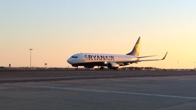 Ryanair surfacent Image stock