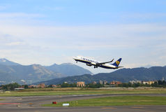 Ryanair take off Stock Photography