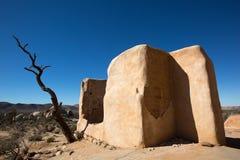Ryans-Ranchruinen im Nationalpark Joshua-Baums Lizenzfreie Stockfotos