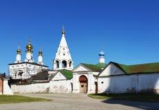 Ryazan Κρεμλίνο, εκκλησία του Epiphany Ryazan, μια πόλη σε ένα ποσό Στοκ εικόνες με δικαίωμα ελεύθερης χρήσης