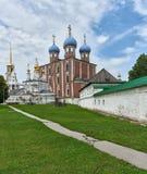 Ryazan der Kreml, gegründet im 17. Jahrhundert Lizenzfreies Stockbild