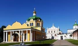 Ryazan el Kremlin, catedral de la suposición e iglesia de la epifanía Ryazan Fotografía de archivo libre de regalías