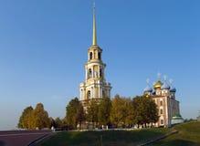 Ryazan het Kremlin stock afbeelding