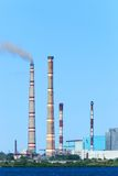 Ryazan-Kraftwerk Lizenzfreie Stockbilder