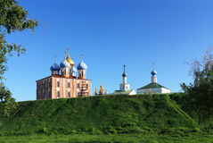 Ryazan Kremlin Stock Photography