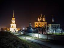 Ryazan Kremlin. Night view of the Kremlin in Ryazan Royalty Free Stock Photography