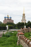 The Ryazan Kremlin. Kremlin of Ryazan, in the Russian Federation Royalty Free Stock Image