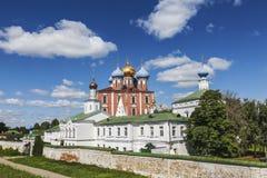Ryazan Kremlin. Ryazan historical-architectural museum-reserve. Ryazan. Russia stock photo