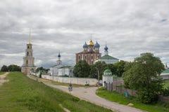 Ryazan kremlin, Ryssland Fotografering för Bildbyråer