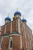 Ryazan kremlin, Ryssland Arkivbild