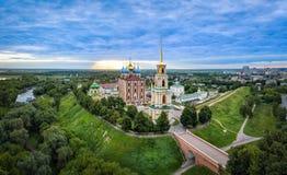 Ryazan kremlin on sunrise Royalty Free Stock Image