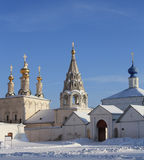 Ryazan Kremlin towers Royalty Free Stock Images
