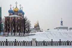 Ryazan Kremlin, winter Royalty Free Stock Photos