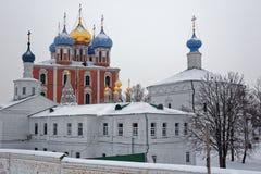 Ryazan Kremlin, winter Stock Photography