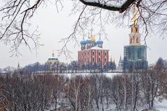 Ryazan Kremlin, winter Stock Photos