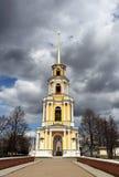 Ryazan Kremlklockstapel Royaltyfri Fotografi