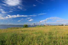 Ryazan Power Station Royalty Free Stock Photo