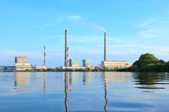 Ryazan Power Station Stock Photography