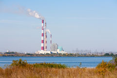 Ryazan Power Station Stock Image