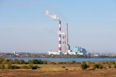 Ryazan Power Station Stock Photos