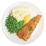 ryba grochy kartoflani Fotografia Stock