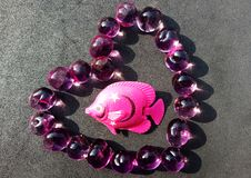 Ryba na sercu zdjęcia royalty free
