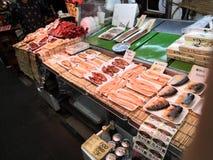 Ryba na stole obrazy stock