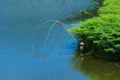 Ryba, połów, rybacy Fotografia Royalty Free