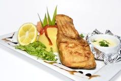 ryba smażąca Obraz Stock