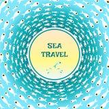 Ryba wzór i podwodny świat Obrazy Stock