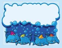 Ryba z bąblami Zdjęcia Stock