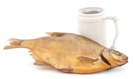 Ryba z piwem Zdjęcie Stock