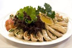 Ryba z warzywami Obraz Stock